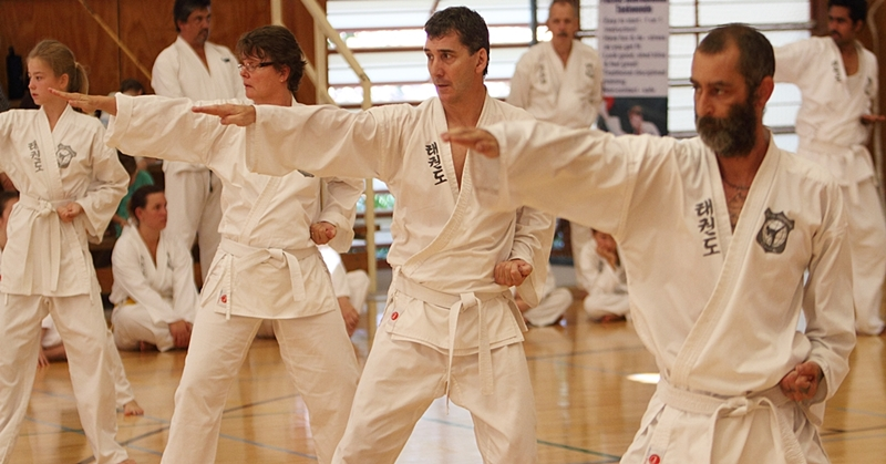 Taekwondo lessons for adults