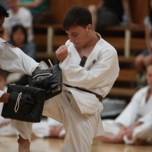 Pacific International Taekwondo, knee kick