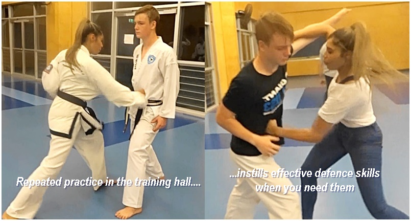 Taekwondo for defense