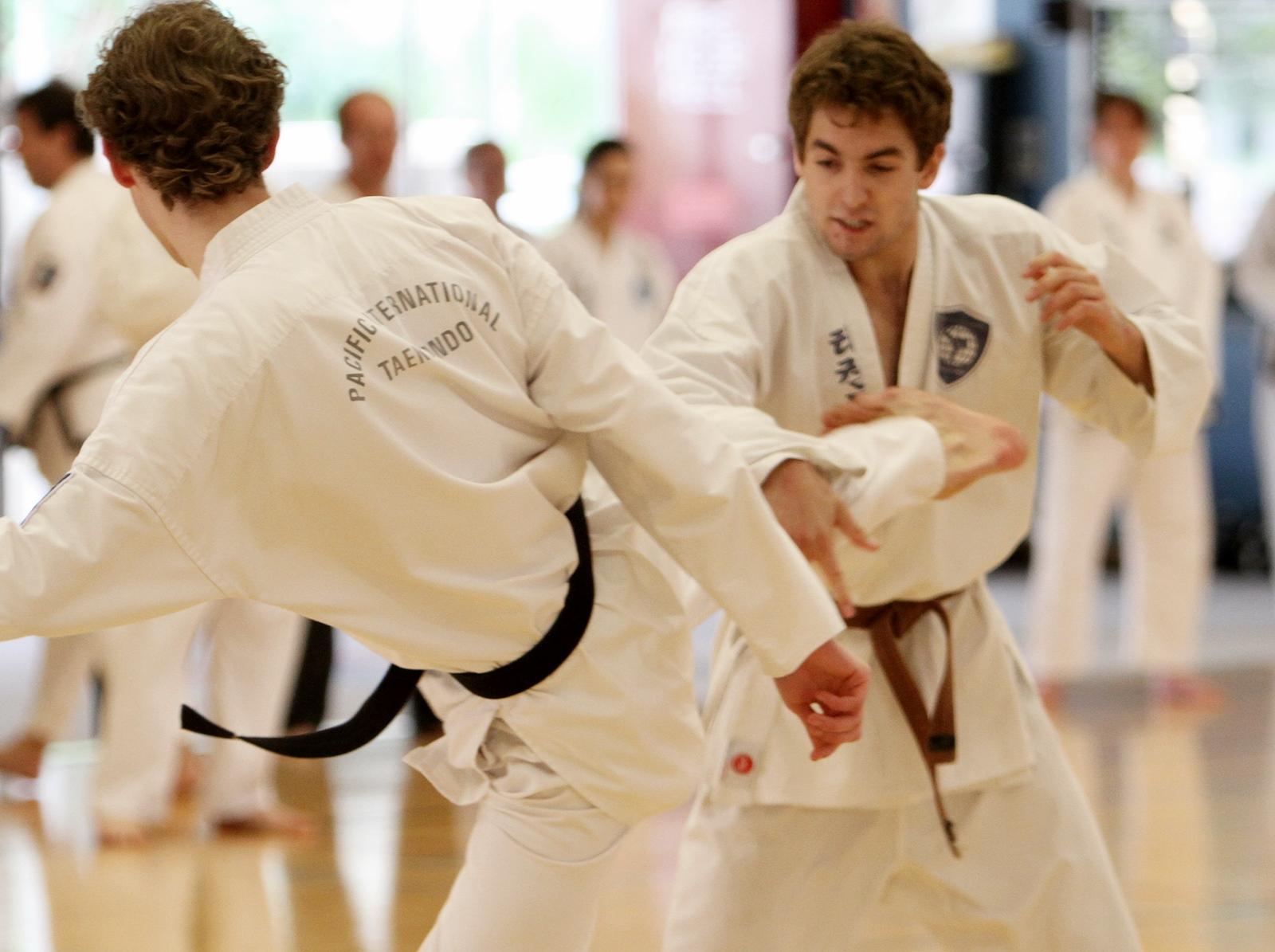 Taekwondo for confidence