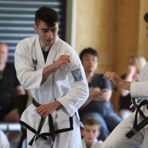 "Taekwondo Training. ""If Not Now, When?"""