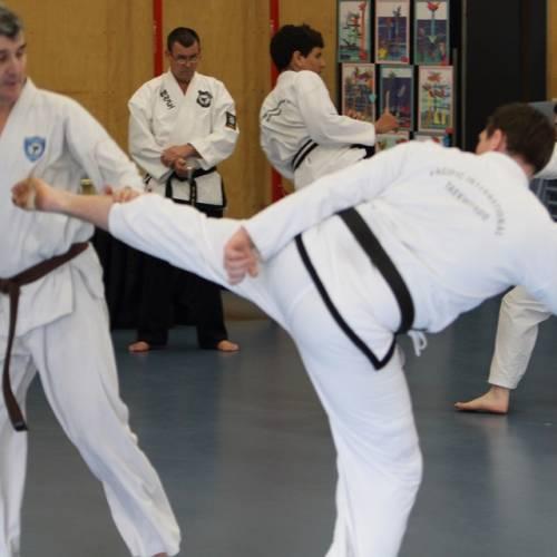 How many days a week should you train for Taekwondo