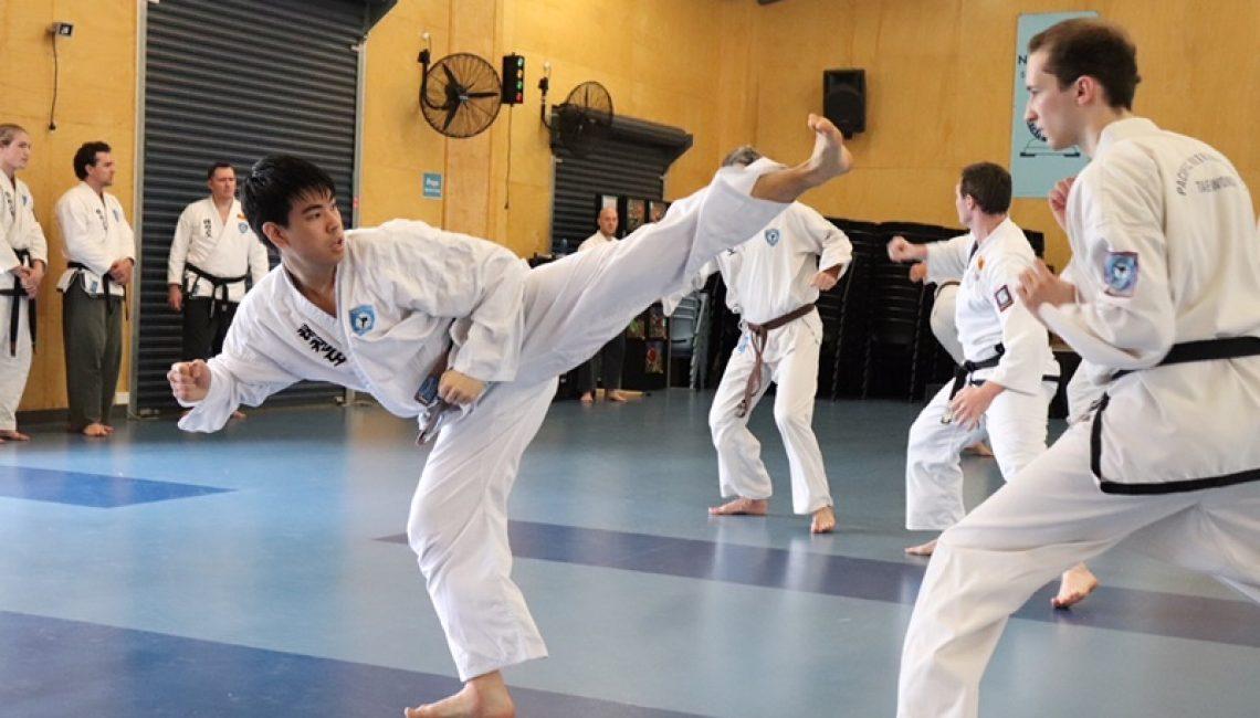Taekwondo makes you fit