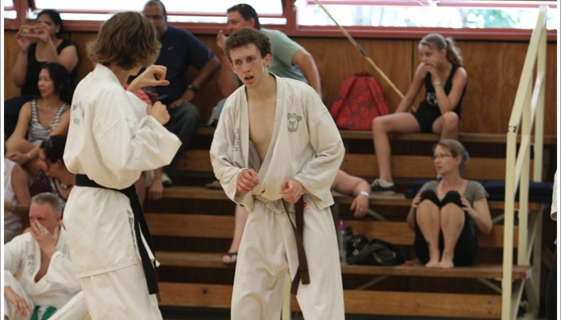 Taekwondo teaches self-regulation
