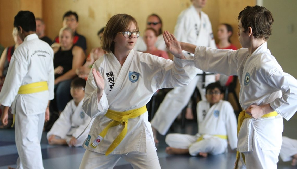 Taekwondo for teens in Brisbane