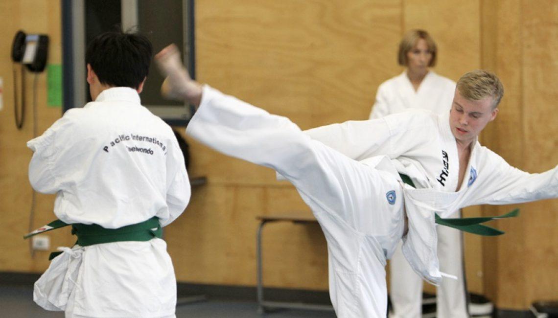 Taekwondo builds self belief