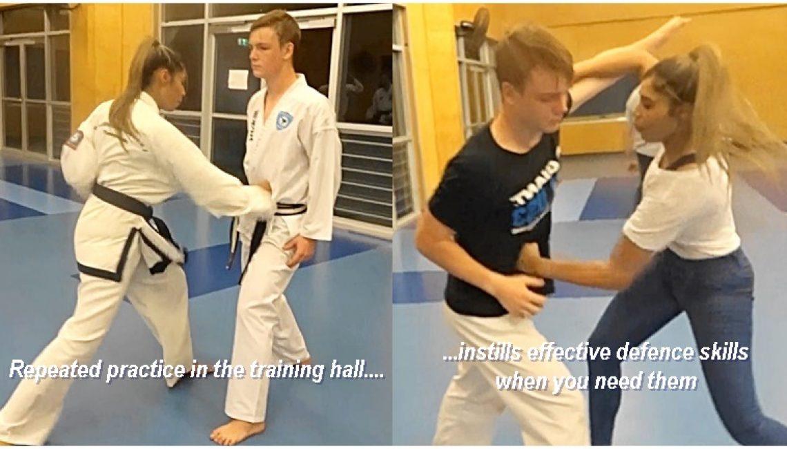 Taekwondo for defense